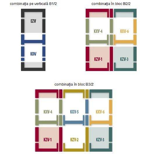 Rama de etansare combi FAKRO KSV (1,2,3)