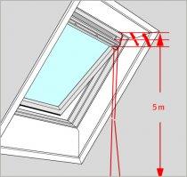 Snur pentru ferestre VELUX ZAZ 010