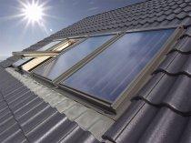 Sisteme panouri solare pentru A.C.M. si aport la incalzire FAKRO