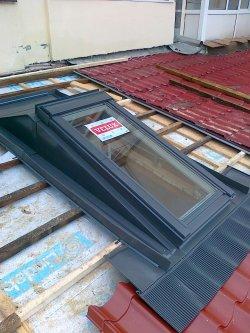 Montaj ferestre de mansarda