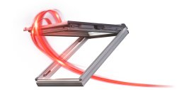 Fereastra de mansarda ROTO Designo Comfort i85 K WD PVC