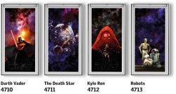 Rulouri opace VELUX DKL Colectia Star Wars