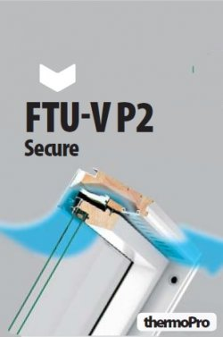 Fereastra de mansarda FAKRO FTU-V P2 Secure