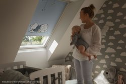 Rulouri opace VELUX DKL Colectia Disney Goodnight
