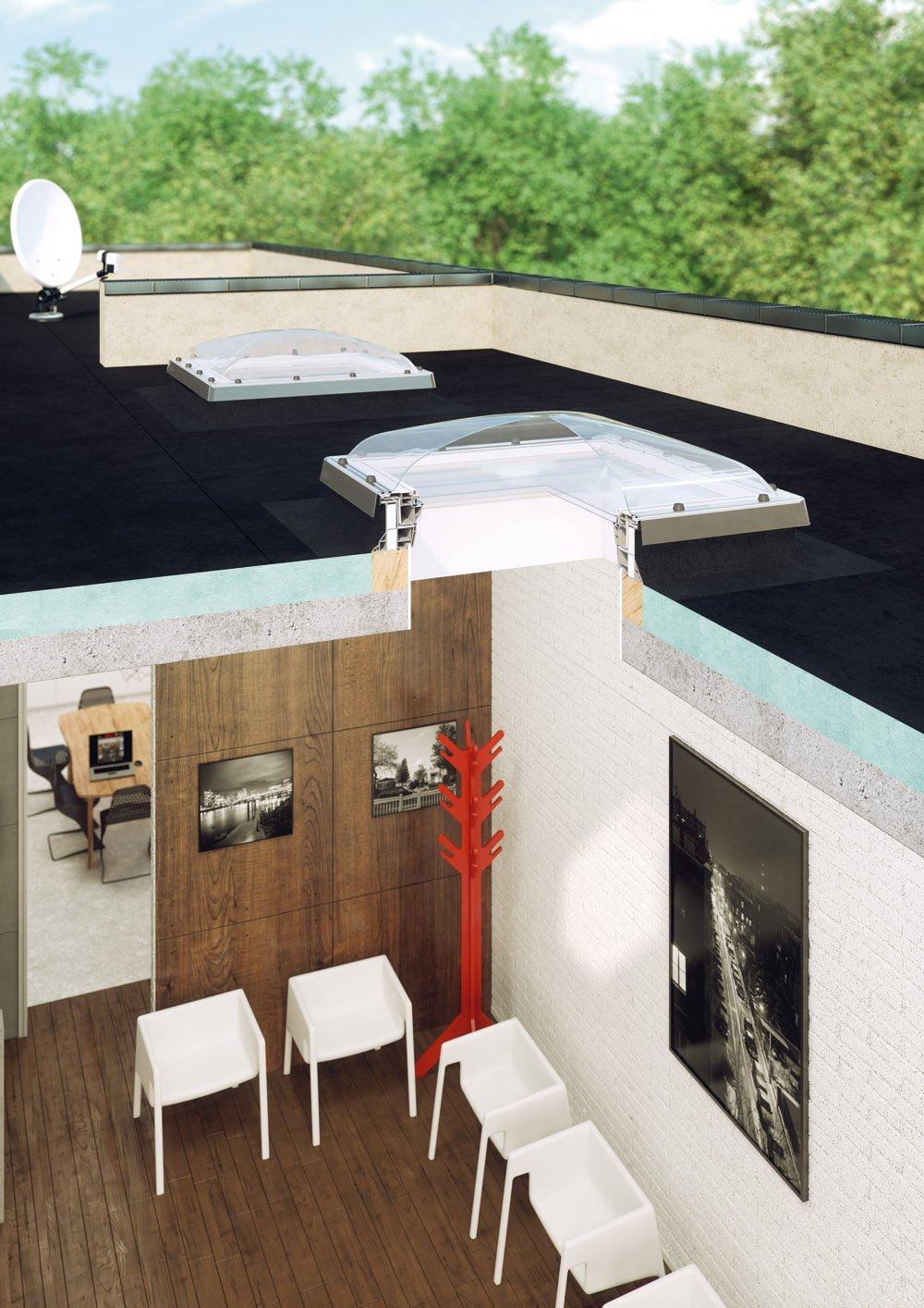 Fereastra pentru acoperis terasa FAKRO DEC P2