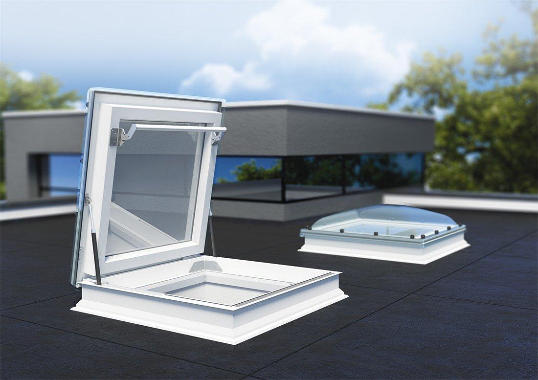 Fereastra de acces pe acoperis terasa FAKRO DRF