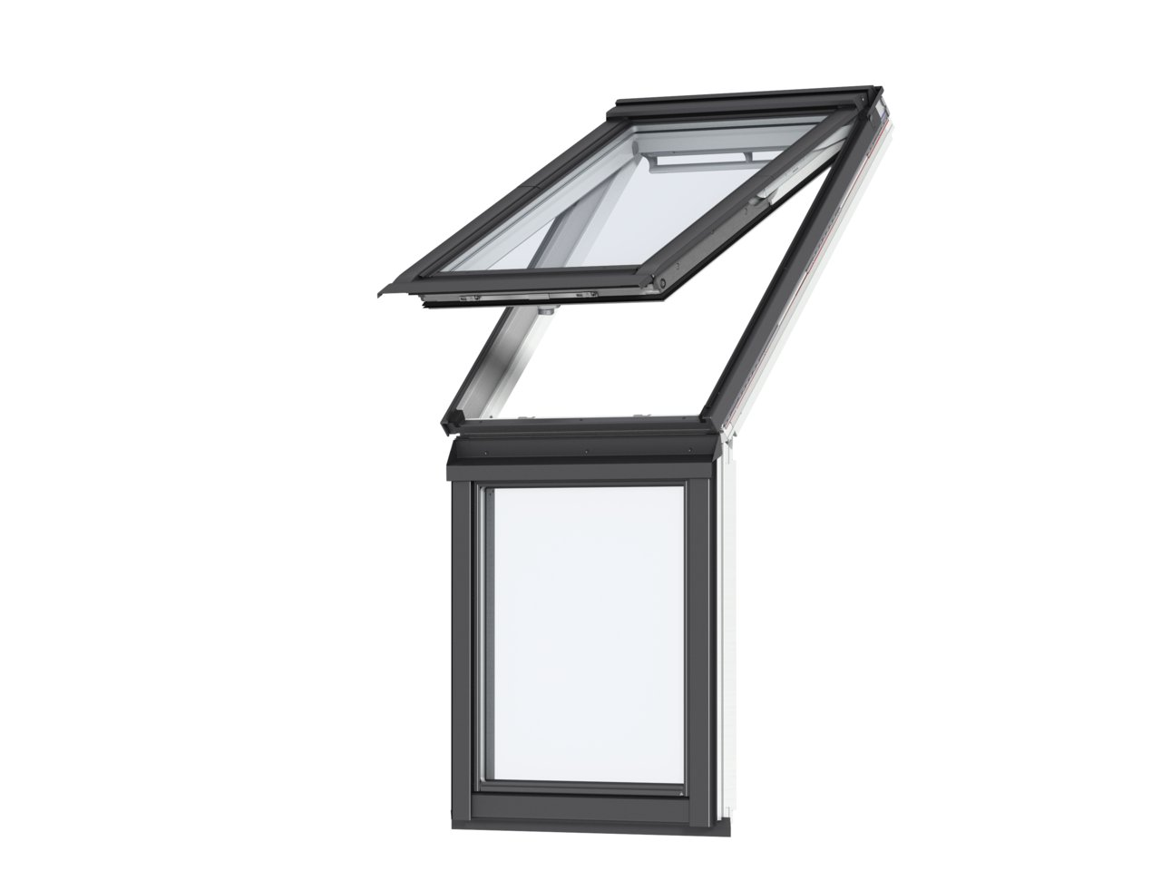 Fereastra verticala pentru combinatie cu fereastra de mansarda VELUX VIU 0070